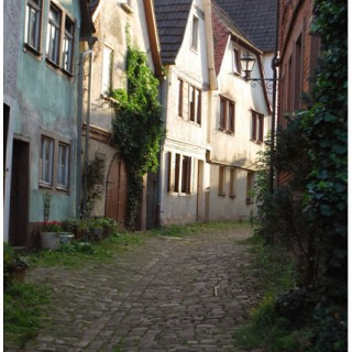 Muschelgasse Lohr am Main Germany