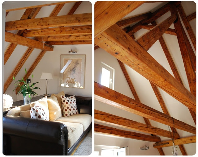 Wohnzimmer (living room) in Muschelgasse