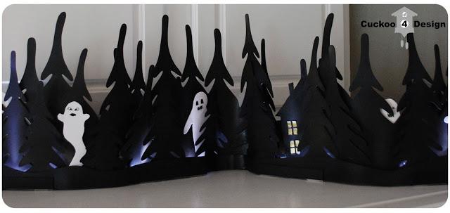 Ikea Strala Halloween light hack