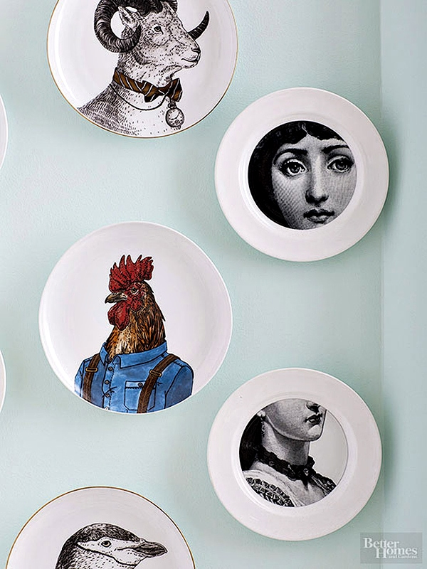 DIY Pierro Fornasetti Plates