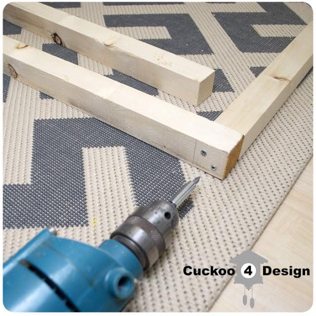 assembling a wood frame