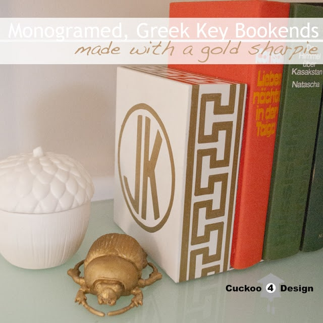DIY greek key project by cuckoo4design
