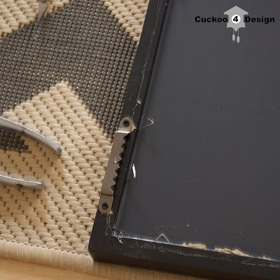 How to remove a mirror from a frame by cuckoo4design