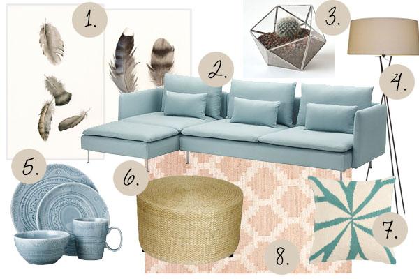 moodboard with ikea soderhamn sofa cuckoo4design. Black Bedroom Furniture Sets. Home Design Ideas