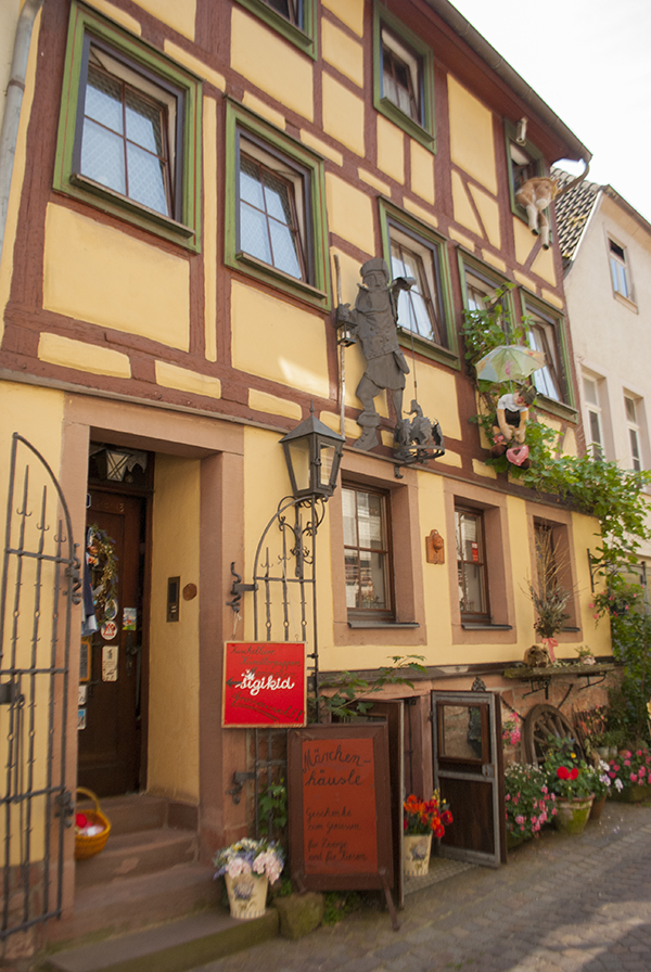 bavarian half-timbered house