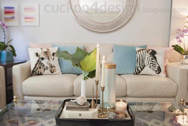 safari living room by cuckoo4design