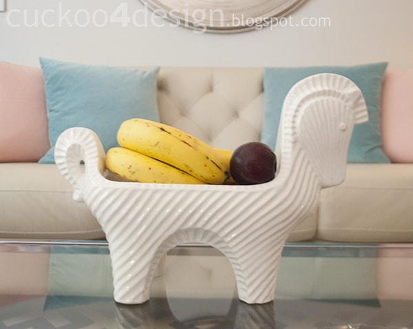 happy chic horse bowl