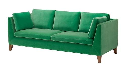 Ikea Stockholm Sofa In Sandbacka Green