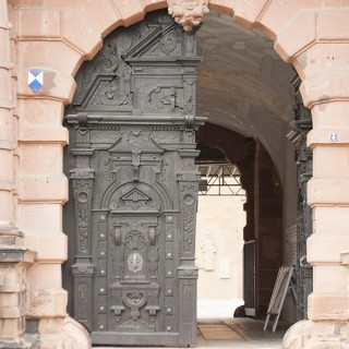 Aschaffenburger castle gate