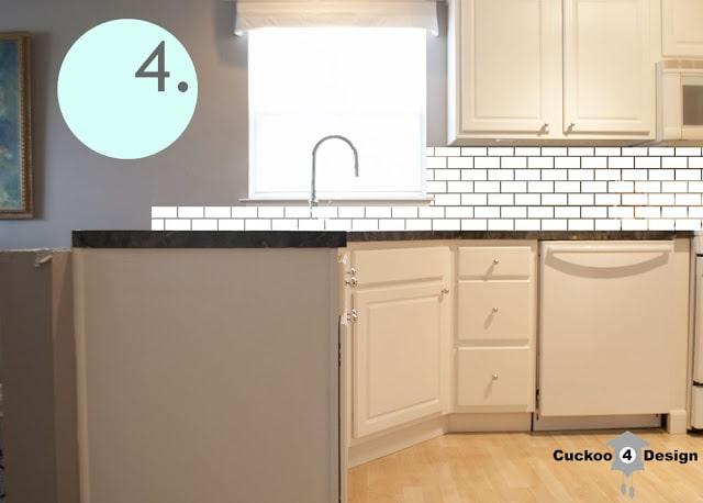Backsplash Kitchen Window kitchen backsplash try outs! - cuckoo4design