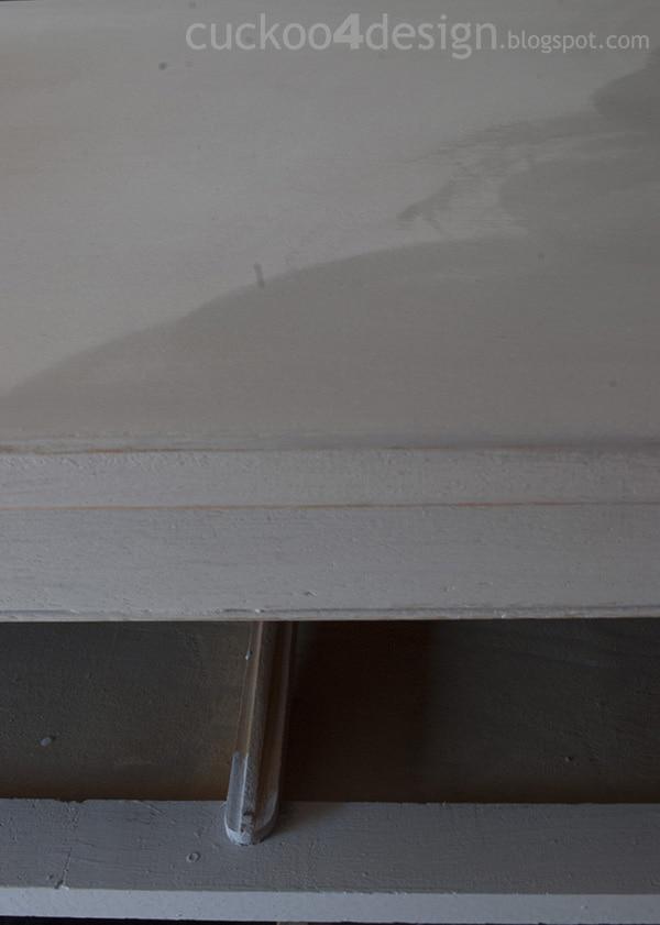 applying furniture wax