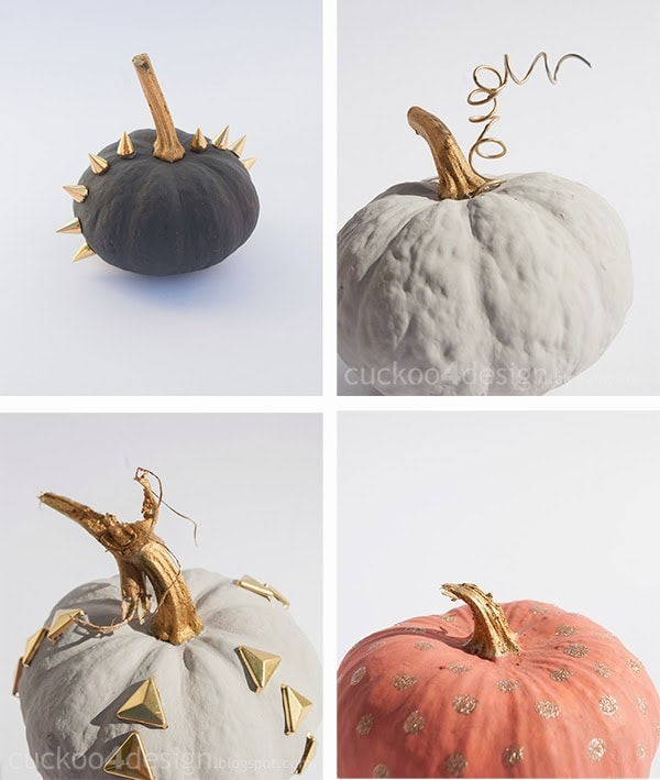Annie Sloan chalk paint pumpkin collection by cuckoo4design