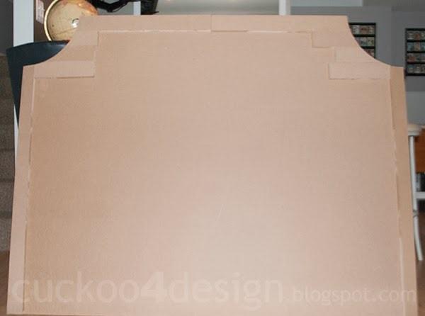 DIY MDF headboard shape