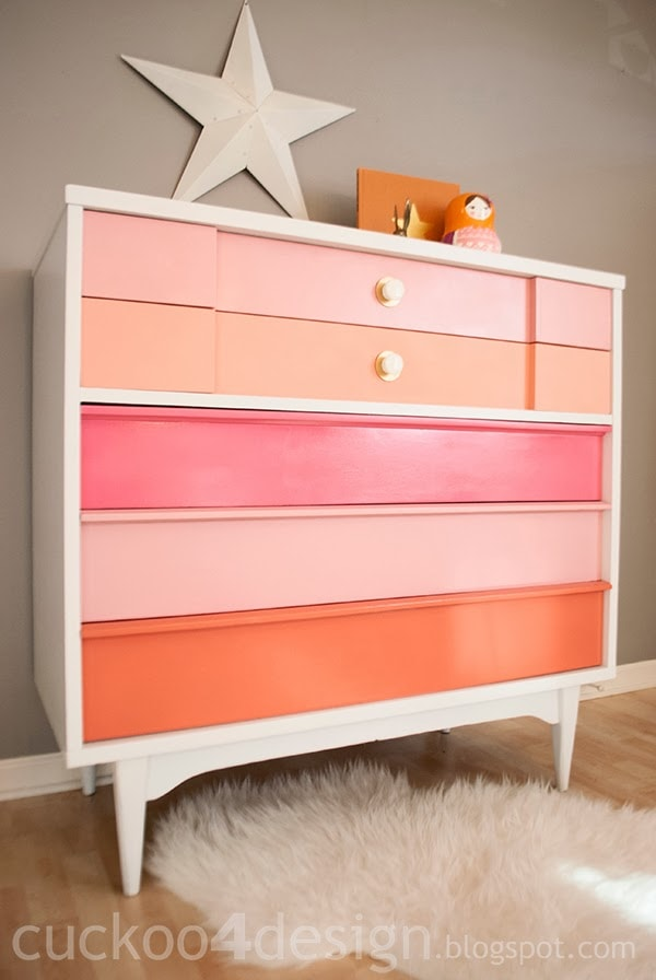 MCM Dresser Makeover using the HOMERight Sprayer