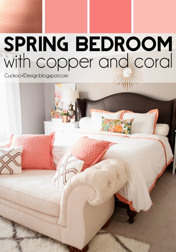 Bedroom Decor Coral