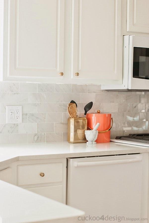 new backsplash with the tile shop cuckoo4design