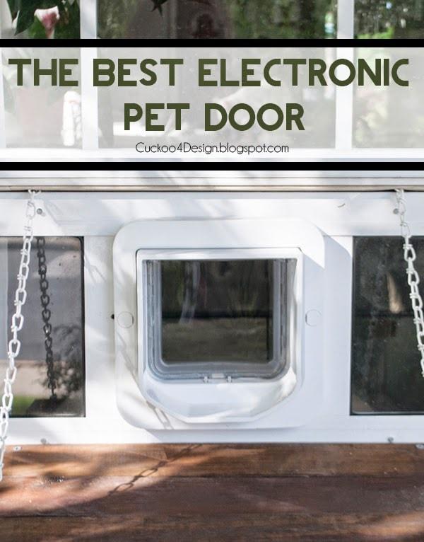 Custom Electronic Pet Door Contraption Cuckoo4design