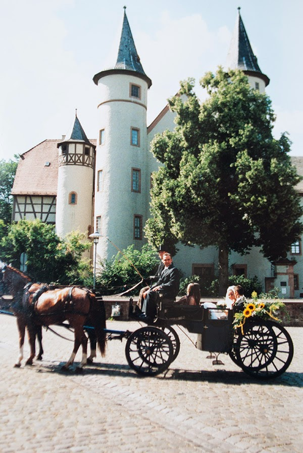Hochzeit vor dem Lehrer Schloss