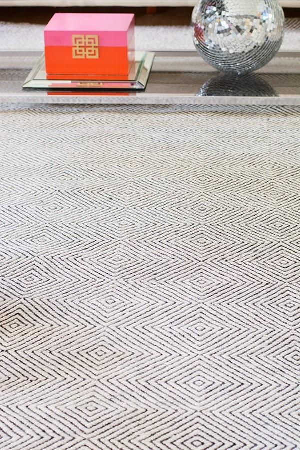 ivory Rugs USA Sierra Paddle rug