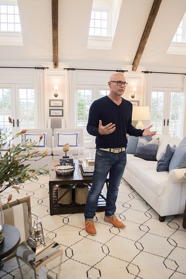 Jack Thomsson in the 2015 HGTV dream home on Martha's Vineyard - Cuckoo4Design