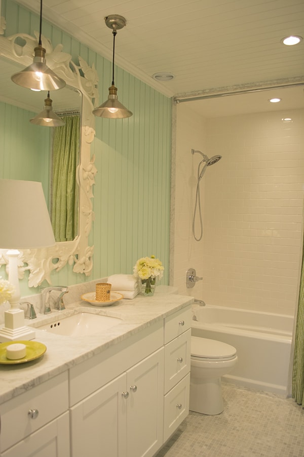 bathroom in the 2015 HGTV dream home on Martha's Vineyard - Cuckoo4Design