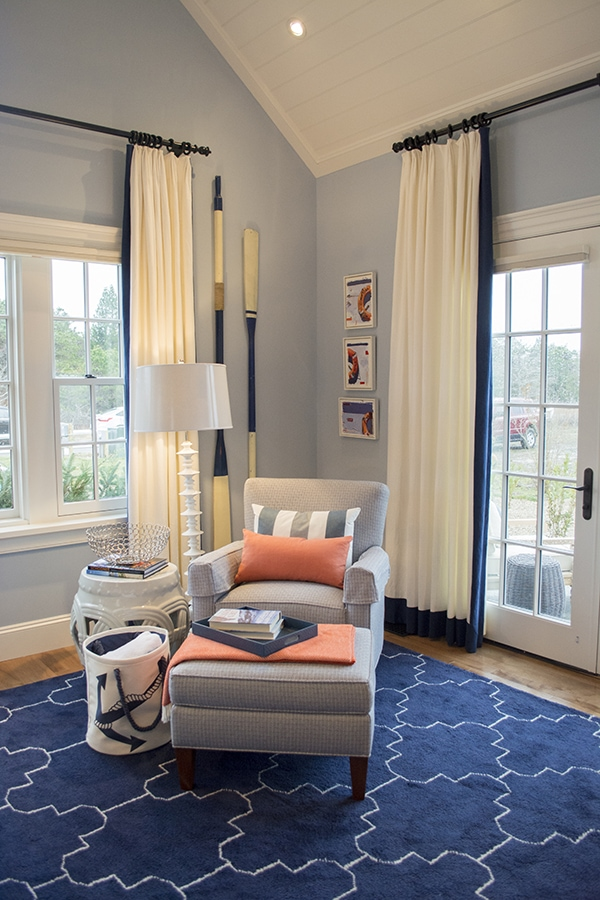 boys room in the 2015 HGTV dream home on Martha's Vineyard - Cuckoo4Design
