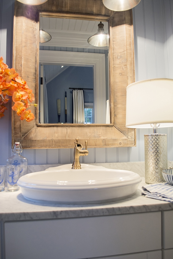 vanity in the 2015 HGTV dream home on Martha's Vineyard - Cuckoo4Design