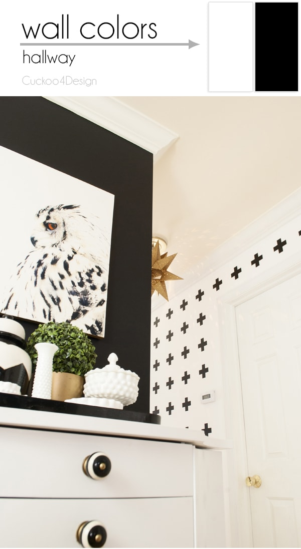 Best hallway wall colors and accessories CuckooDesign
