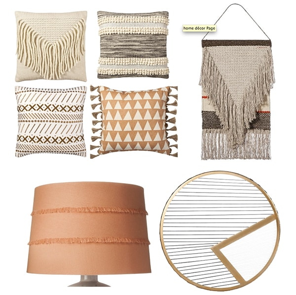 Target Wall Hangings eclectic blush living room moodboard - cuckoo4design