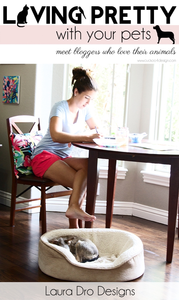 Living Pretty With Your Pets: Laura Dro Designs