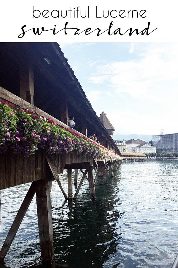 traveling to Lucerne Switzerland