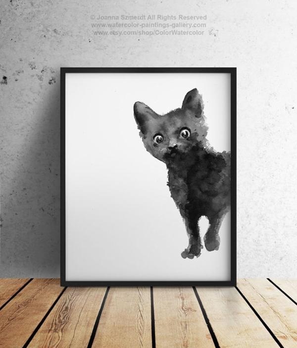 cat print