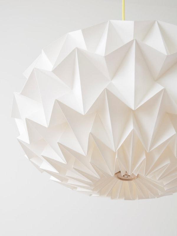 origami paper lampshades