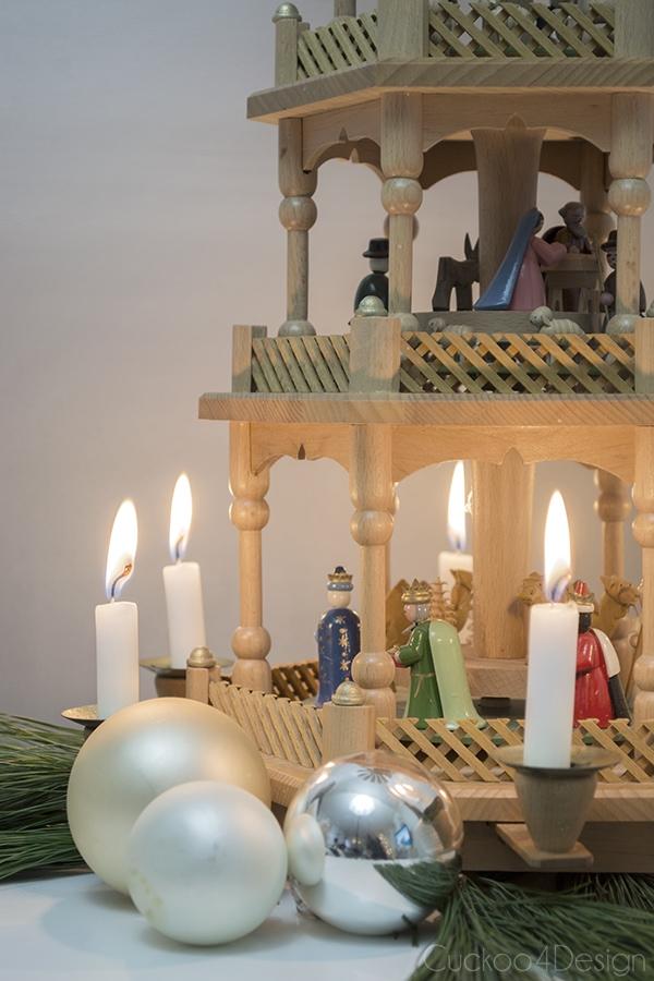 German Christmas pyramid - Cuckoo4Design