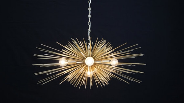 gold_urchin_chandelier