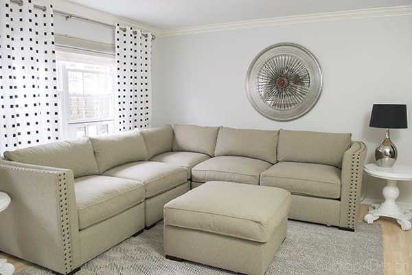 Welcoming Our New ManCave Sectional CuckooDesign - American signature sofas