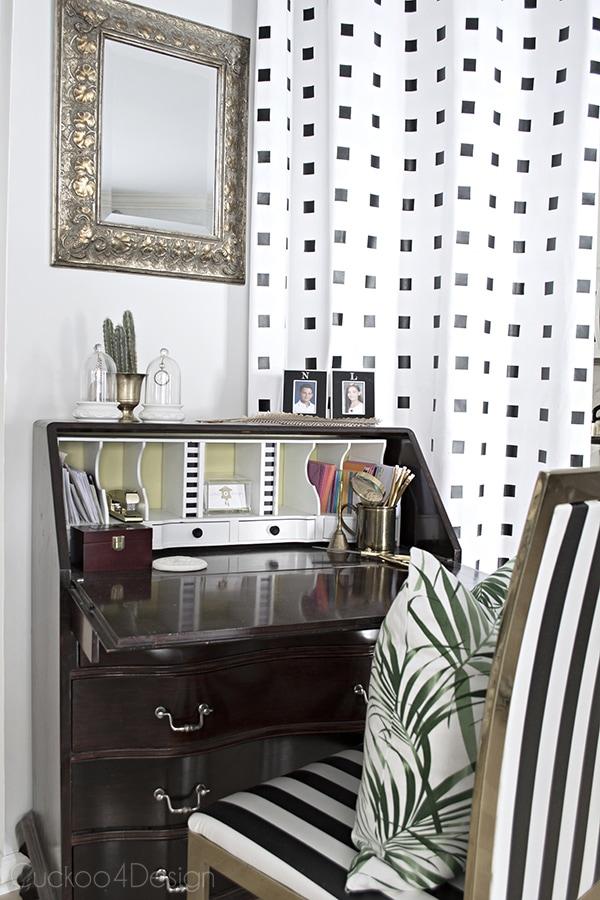 QueQueen Anne Secretary Desk Makeover - Cuckoo4Designen Anne Secretary Desk Makeover - Cuckoo4Design