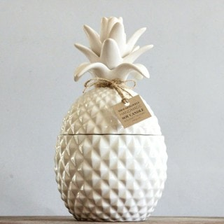 custom handmade pineapple candle