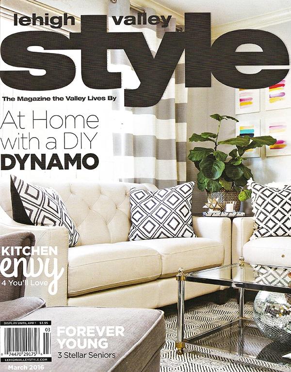 Lehigh Valley Style Magazine - Cuckoo4Design