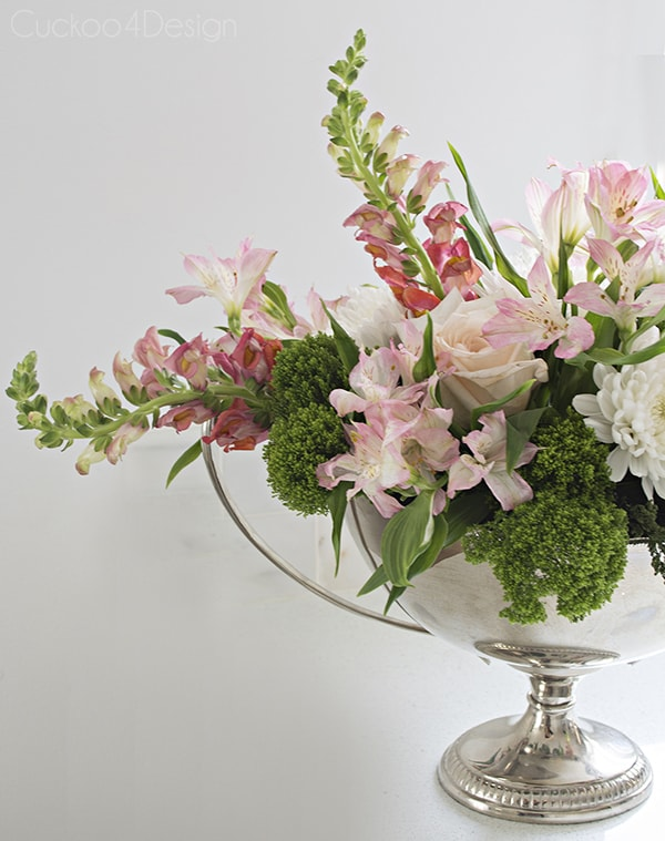 spring flower arrangement - Cuckoo4Design