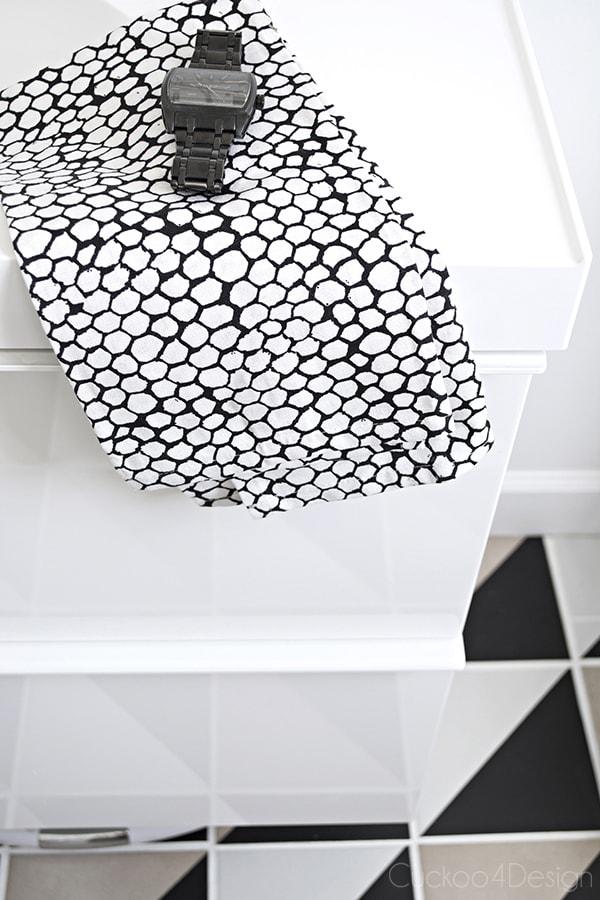 Ikea Godmorgon sink and black Delta Trinsic bar prep faucet - Cuckoo4Design