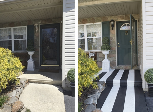 black_and_white_striped_concrete_porch_3_before_and_after