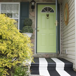 Valspar Everglade Glen front door