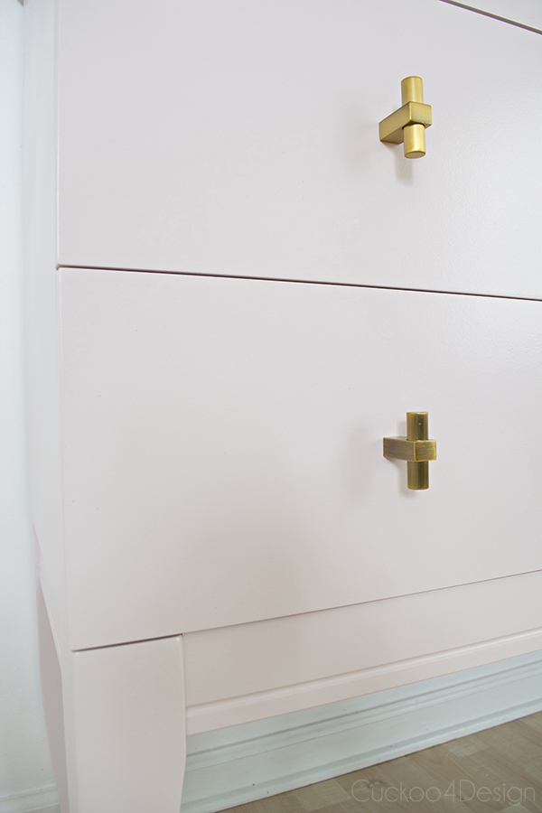 Quartz_pink_dresser_makeover_with_modern_gold_hardware_11