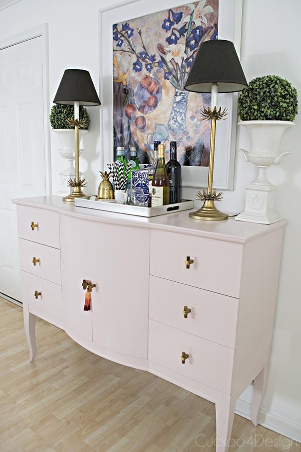 Quartz_pink_dresser_makeover_with_modern_gold_hardware_14