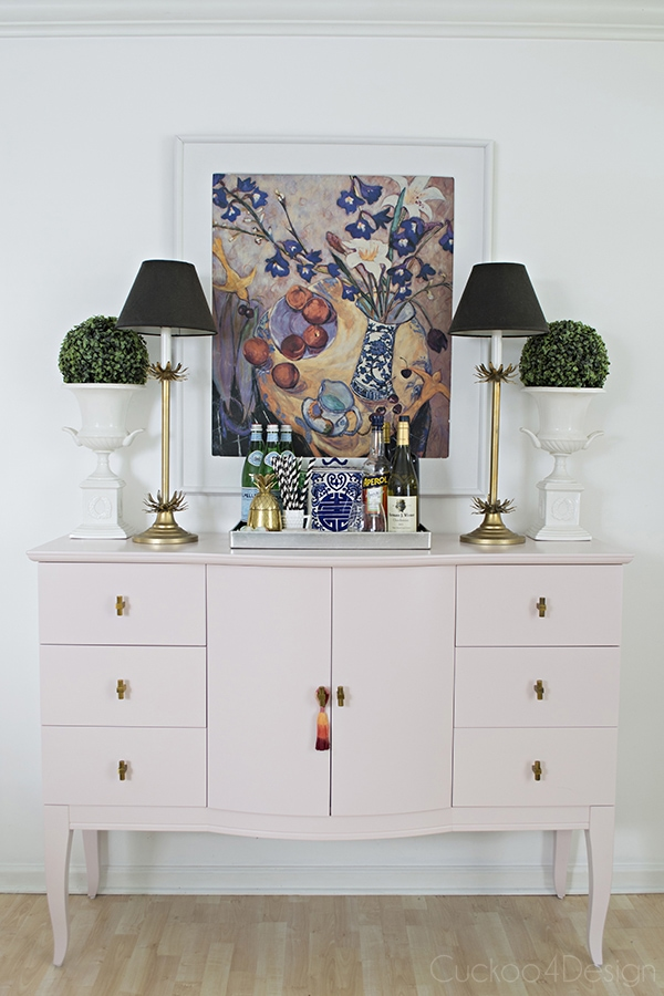Quartz_pink_dresser_makeover_with_modern_gold_hardware_7
