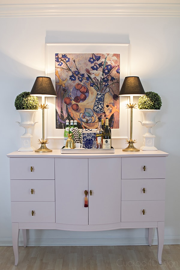 Quartz_pink_dresser_makeover_with_modern_gold_hardware_8