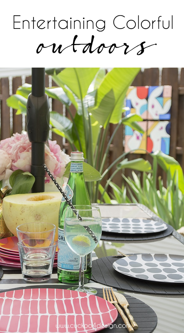 entertaining colorfully outdoors