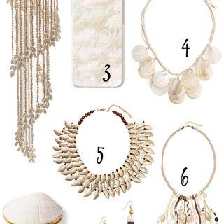 seashells for the summer