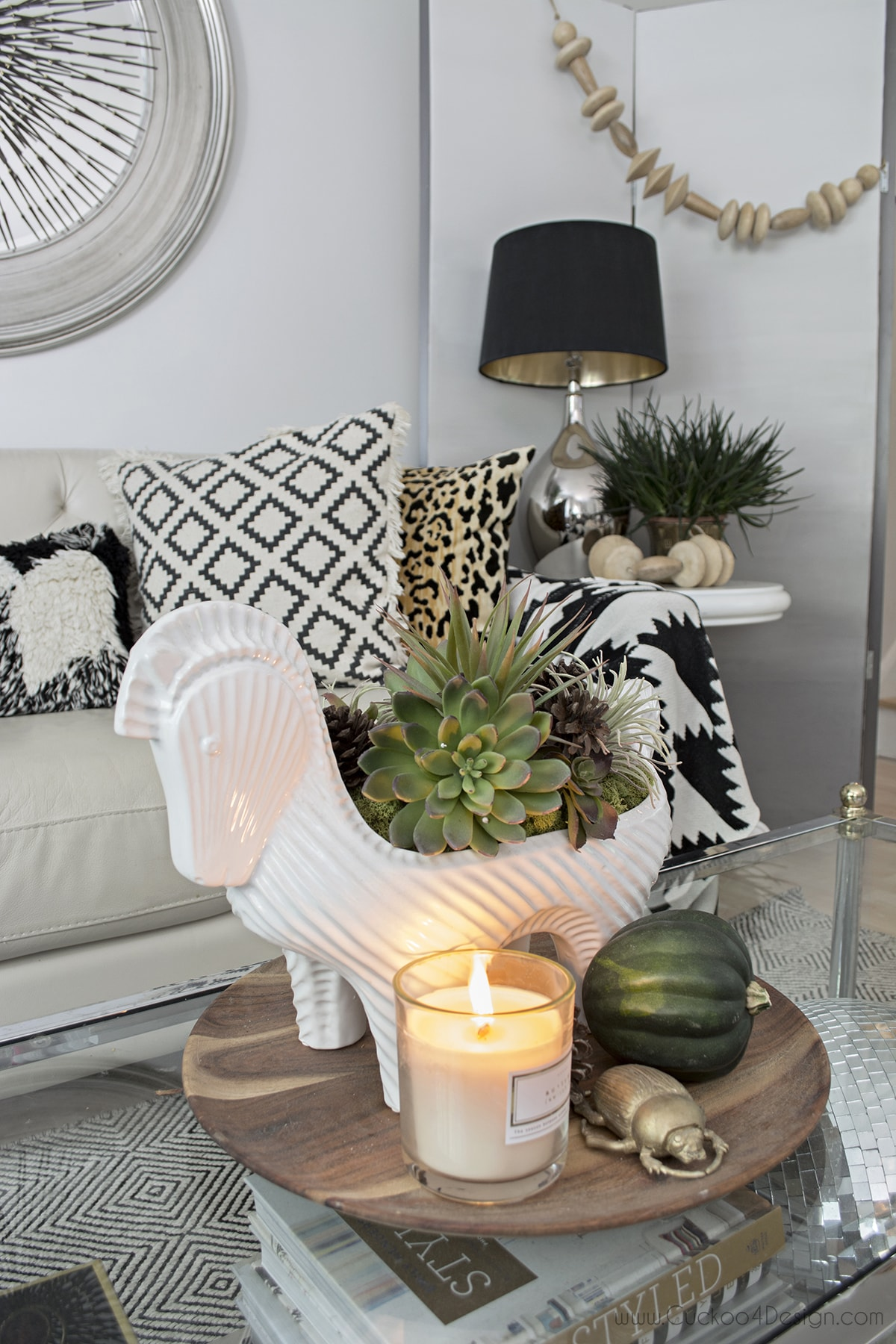 neutral eclectic boho fall tour - Cuckoo4Design